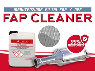 FAP CLEANER – Pulizia filtri FAP