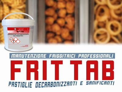FRIT TAB – Decarbonizzante per friggitrici