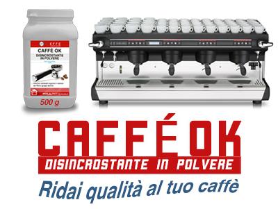 CAFFÈ-OK – Disincrostante in polvere