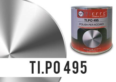 TI.PO 495  Crema Polish lucidante per superfici verniciate e non